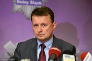 Mariusz Błaszczak (Fot. Kornelia Głowacka-Wolf / Agencja Gazeta)