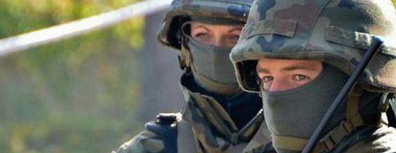 Były już podoficer Policji, po przeniesieniu do wojska, nie został mianowany na stopień równorzędny. Fot. MON