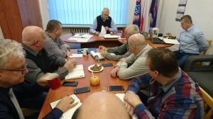 Posiedzenie Prezydium Zarządu Wojewódzkiego