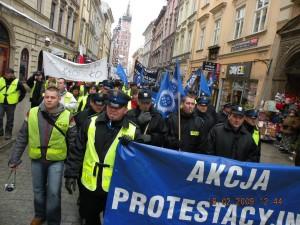 20. Kraków Protest Służb